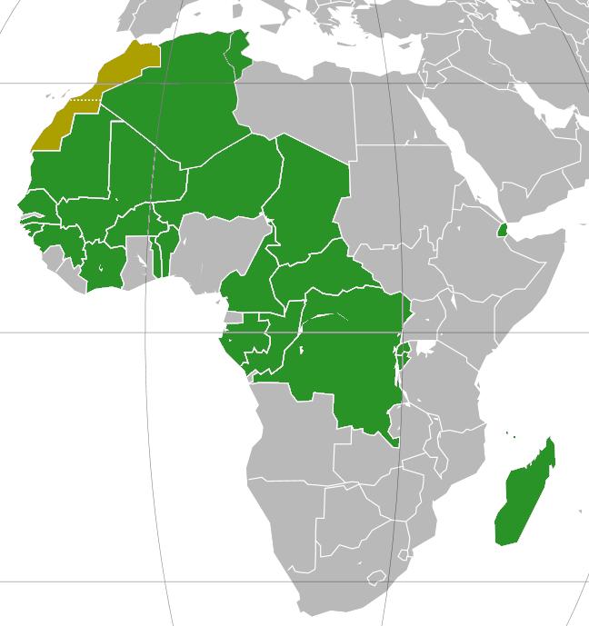 Carte De Lafrique Francophone.Ratification De La Convention Cadre De L Oms En Afrique